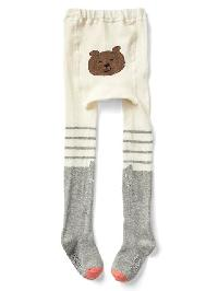 Gap Kitten Sweater Tights - Light heather grey