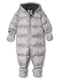 Gap Cozy Heather Puffer One Piece - Flint grey