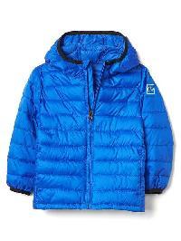Gap Coldcontrol Lite Puffer Hoodie - Bristol blue 137