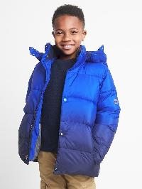 Gap Puffer Jacket - Bristol blue 137