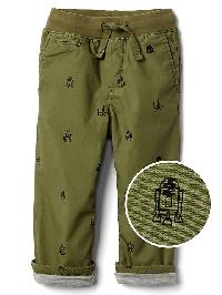 Gap &#124 Star Wars� Pull On Chinos - Desert cactus
