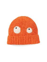 Gap Halloween Spooky Eye Beanie - Orange pop