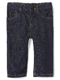 Gap My First Straight Fit Jeans - Dark rinse