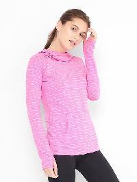 Gapfit Stripe Hoodie - Pink stripe