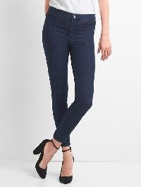 Gap Seamed Slim Fit Jeans - Dark indigo
