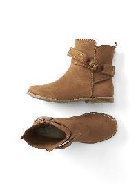 Gap Suede Tie Boots - Summer spice
