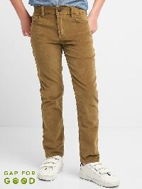 Gap High Stretch Slim Cord Jeans - Cream caramel