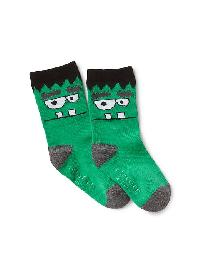Gap Spooky Glow In The Dark Socks - Frankenstein