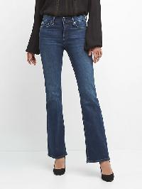 Gap Mid Rise Perfect Boot Jeans - Dark indigo 10