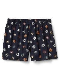 "Gap Poplin Print 4.5"" Boxers - Bring your own bottleb"
