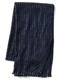 Gap Cozy Print Scarf - Tapestry navy