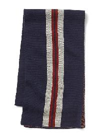 Gap Jacquard Stripes Scarf - Tapestry navy