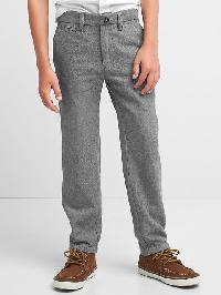 Gap Herringbone Pants - Storm cloud 623