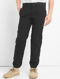 Gap Herringbone Pants - True black