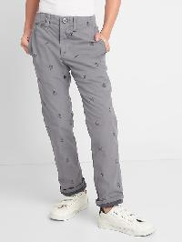 Gap &#124 Star Wars� Jersey Lined Chinos - Grey area