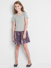 Gap Sequin Drop Waist Dress - Light heather grey