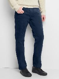 Gap Straight Fit Cords (Stretch) - New classic navy