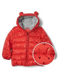 Gap Coldcontrol Lite Bear Puffer - Modern red 2