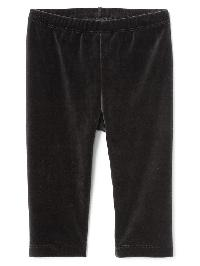 Gap Velour Leggings - True black