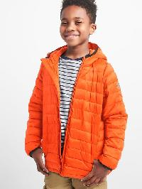 Gap Coldcontrol Lite Puffer - Orange buoy