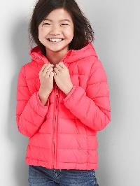 Gap Coldcontrol Lite Puffer Hoodie - Pink light