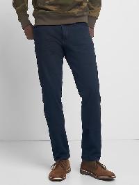 Gap 4 Way Stretch Slim Fit Jeans - Dark blue black