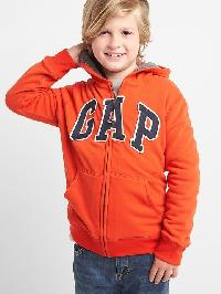Gap Cozy Logo Zip Hoodie - Grenadine orange 721