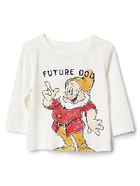 Babygap &#124 Disney Baby Snow Whites And The Seven Dwarfs Top - New off white