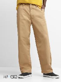 Gap + Gq Ua Wide Leg Khakis - Mojave