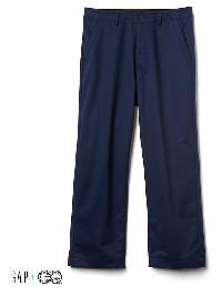 Gap + Gq Ua Wide Leg Khakis - True indigo