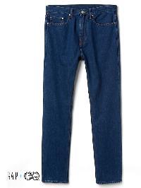 Gap + Gq Ami 5 Pocket Slim Fit Jeans - Natural wash