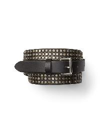 Gap Nail Head Belt - True black