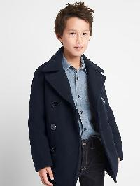 Gap Melton Wool Peacoat - Deepest navy a.s.