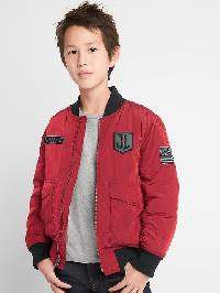 Gapkids &#124 Dc� Justice League Flight Jacket - Cinnabar red 3