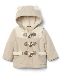 Gap Cozy Bear Duffle Coat - Classic camel