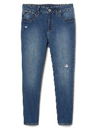 Gap High Stretch High Rise Skimmer Jeggings - Medium wash