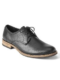 Gap Lace Up Dress Shoes - True black