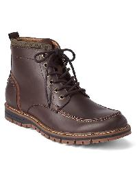 Gap Lace Up Boots - Brown