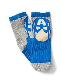 Babygap &#124 Marvel Avengers Crew Socks - Captain america