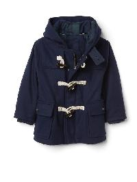 Gap Toggle Duffle Coat - True indigo