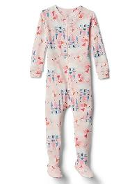 Gap Fairy Queen Footed Sleep One Piece - Pink