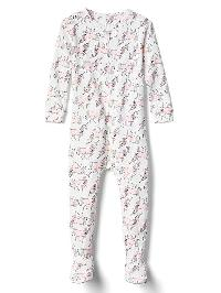 Gap Unicorn Footed Sleep One Piece - New off white