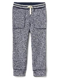 Gap Sweater Fleece Pull On Pants - True indigo