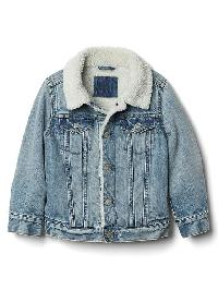 Gap Cozy Denim Jacket - Light wash