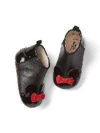 Babygap &#124 Disney Minnie Mouse Booties - True black
