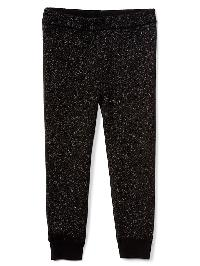 Gap Shimmer Sweater Leggings - True black