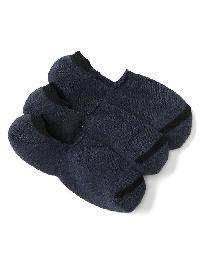 Gap No Show Socks (3 Pack) - Navy heather