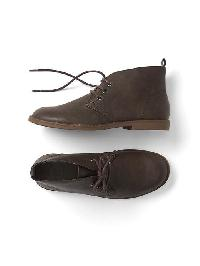 Gap Faux Leather Desert Boot - Ground brown