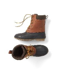 Gap Duck Boots - Golden oak