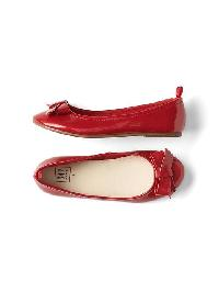 Gap Patent Leather Ballet Flats - Modern red 2